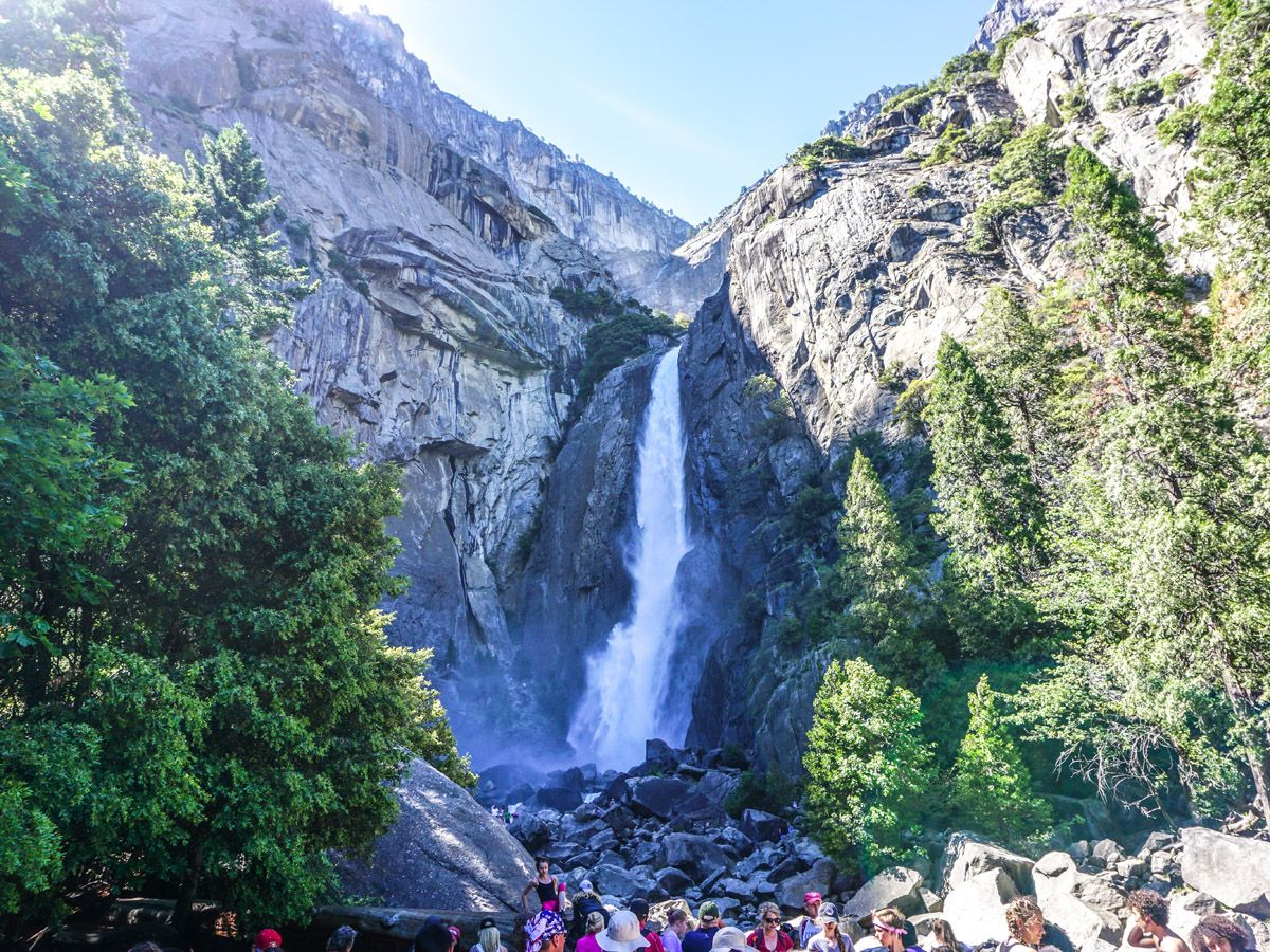 Lower Yosemite Falls at Yosemite National Park