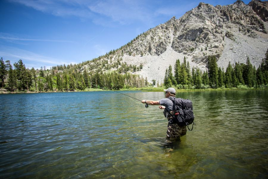 Fishing at June Lake