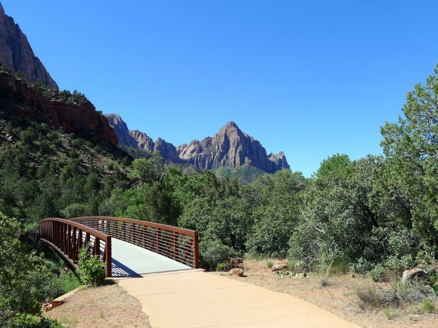 Visiting Pa'rus Trail is a must-do in Zion National Park
