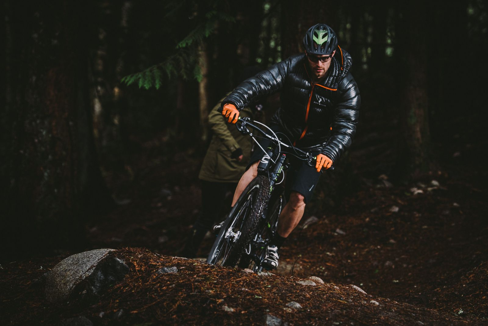 Mark Milburn mountain biking