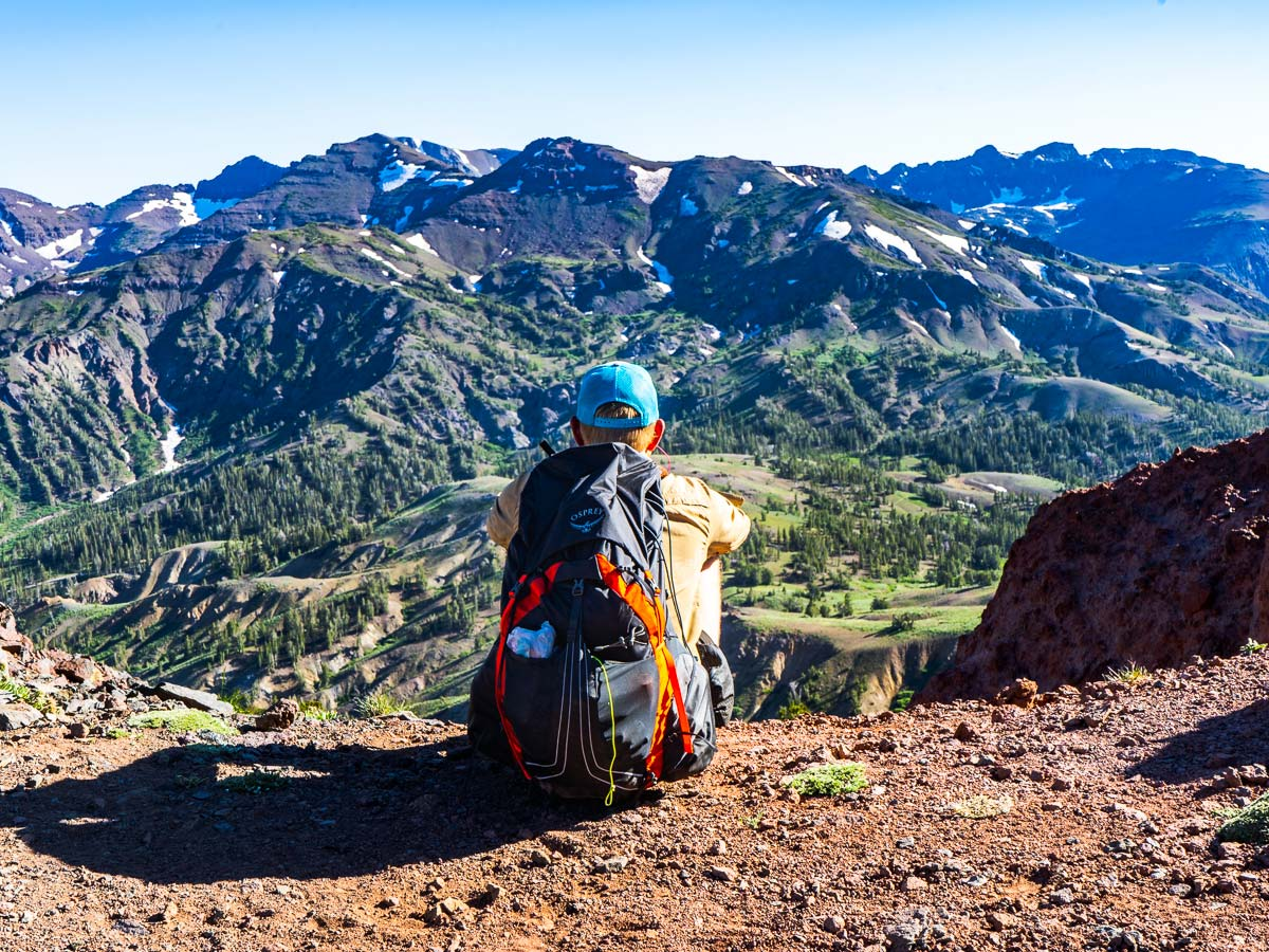 Views on the Pacific Crest Trail