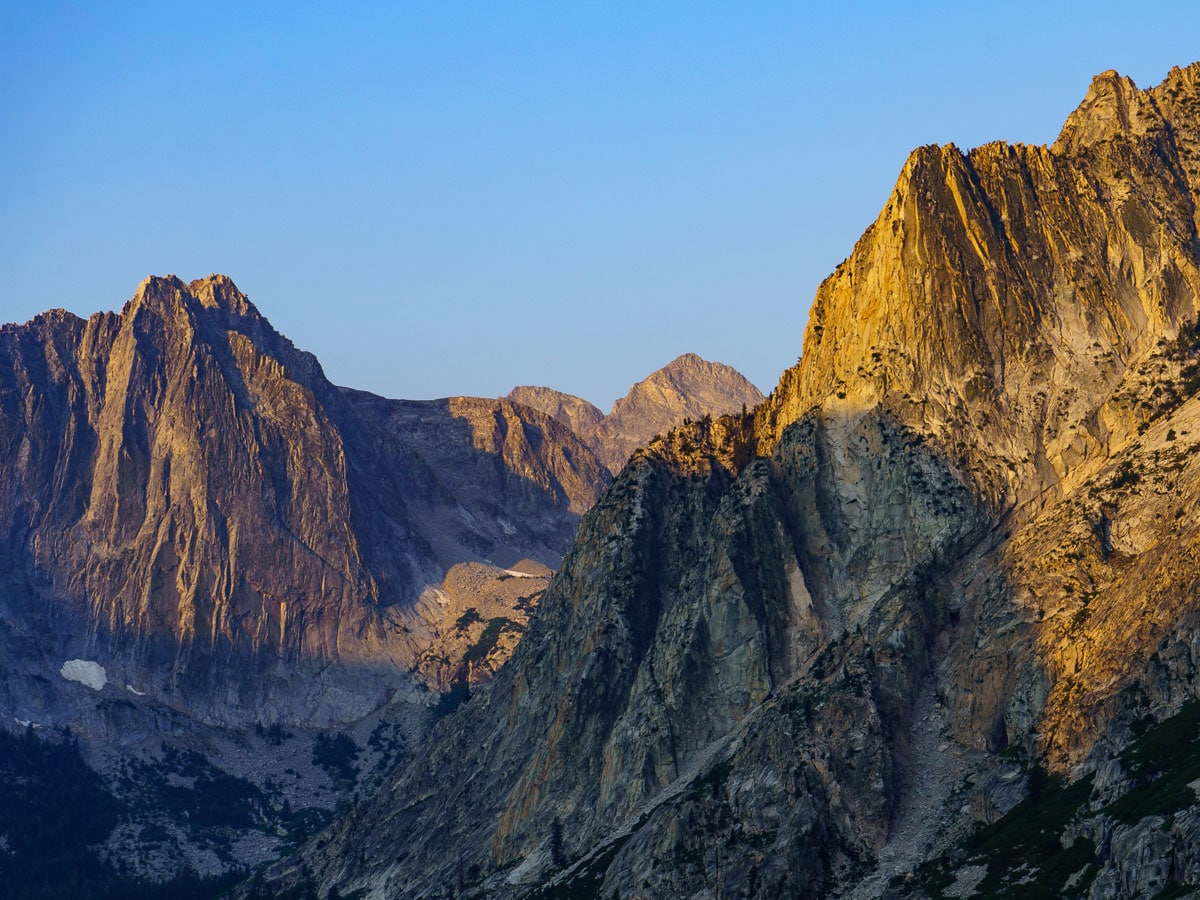 Granite Crags on the Pacific Crest Trail
