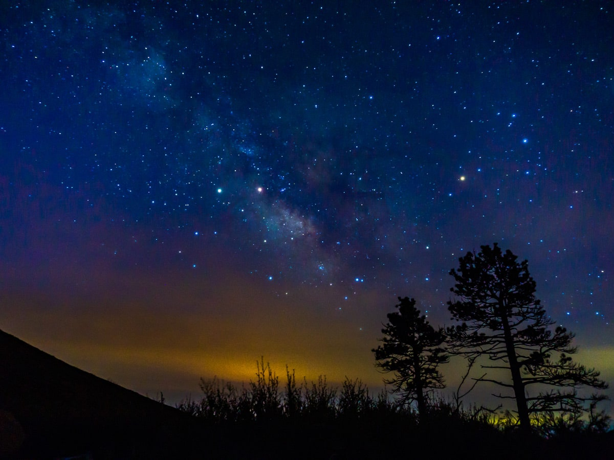 Milky Way on the Pacific Crest Trail