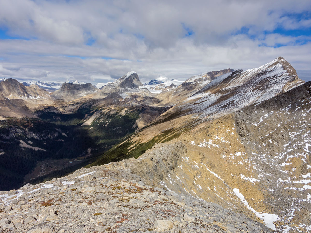 Niles Meadow and Mt Niles on Paget Peak scramble in Banff National Park