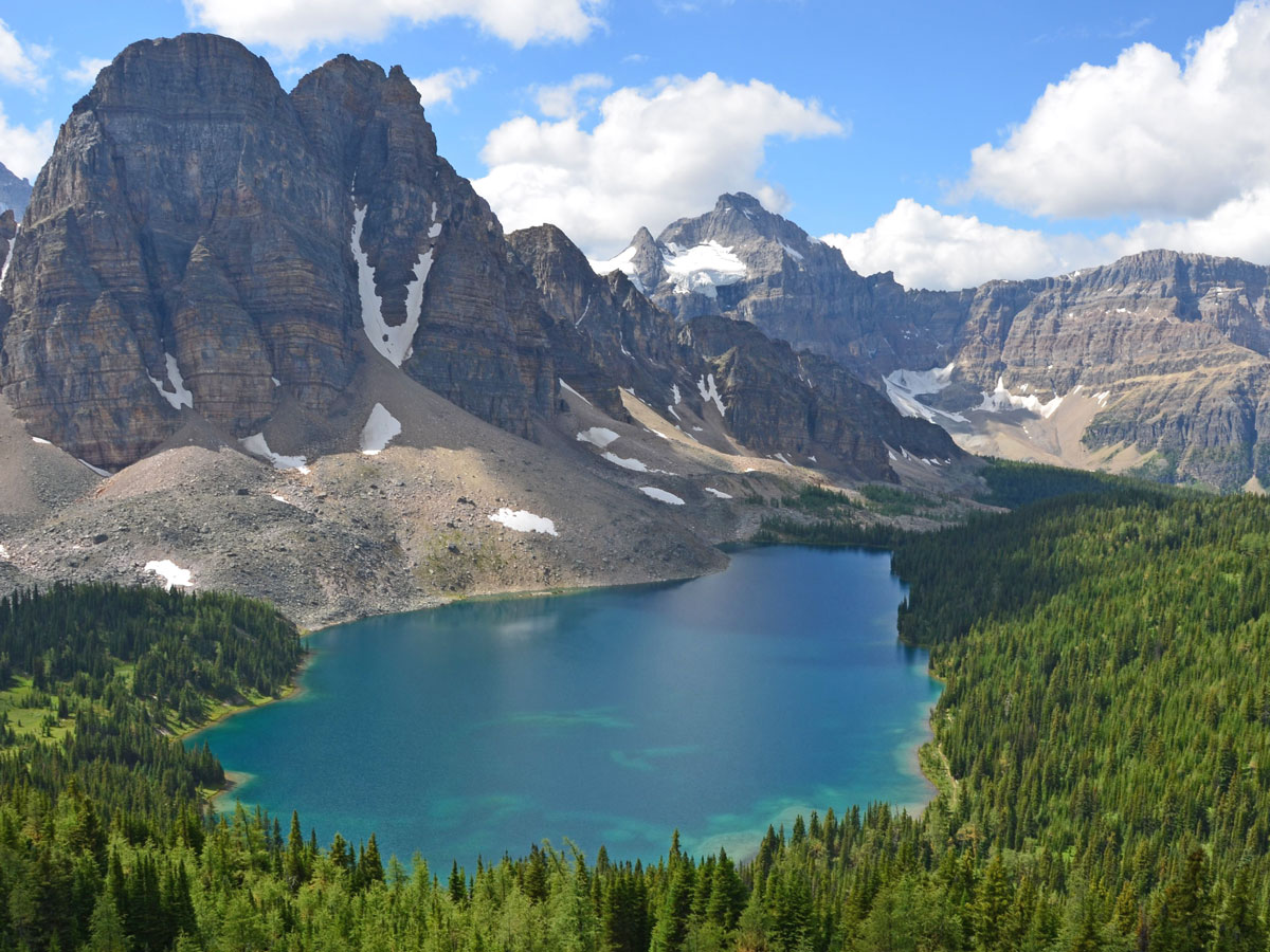 Beautiful Assiniboine Cerulean Lake