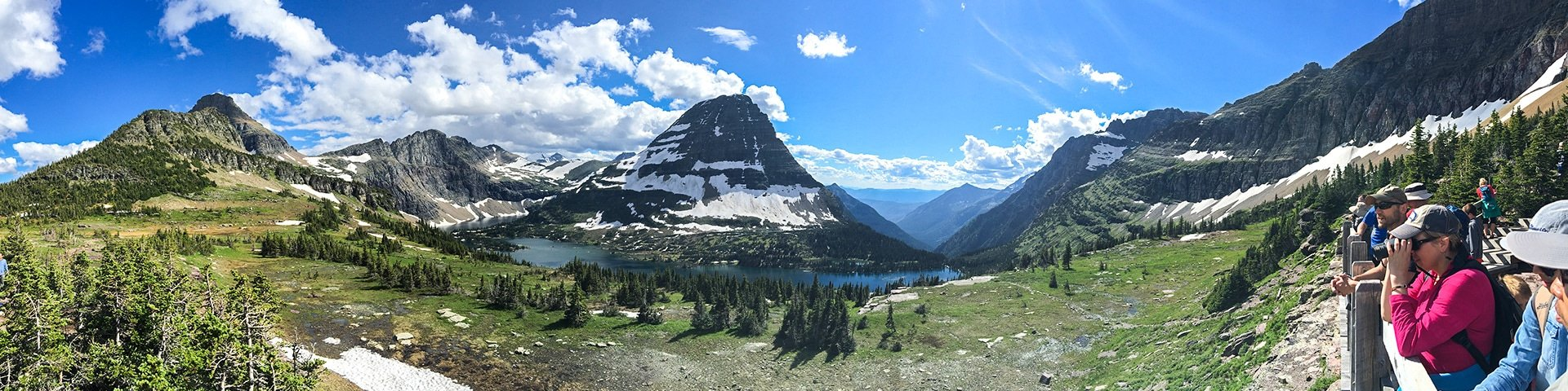 Day-hikes in Glacier National Park, Montana