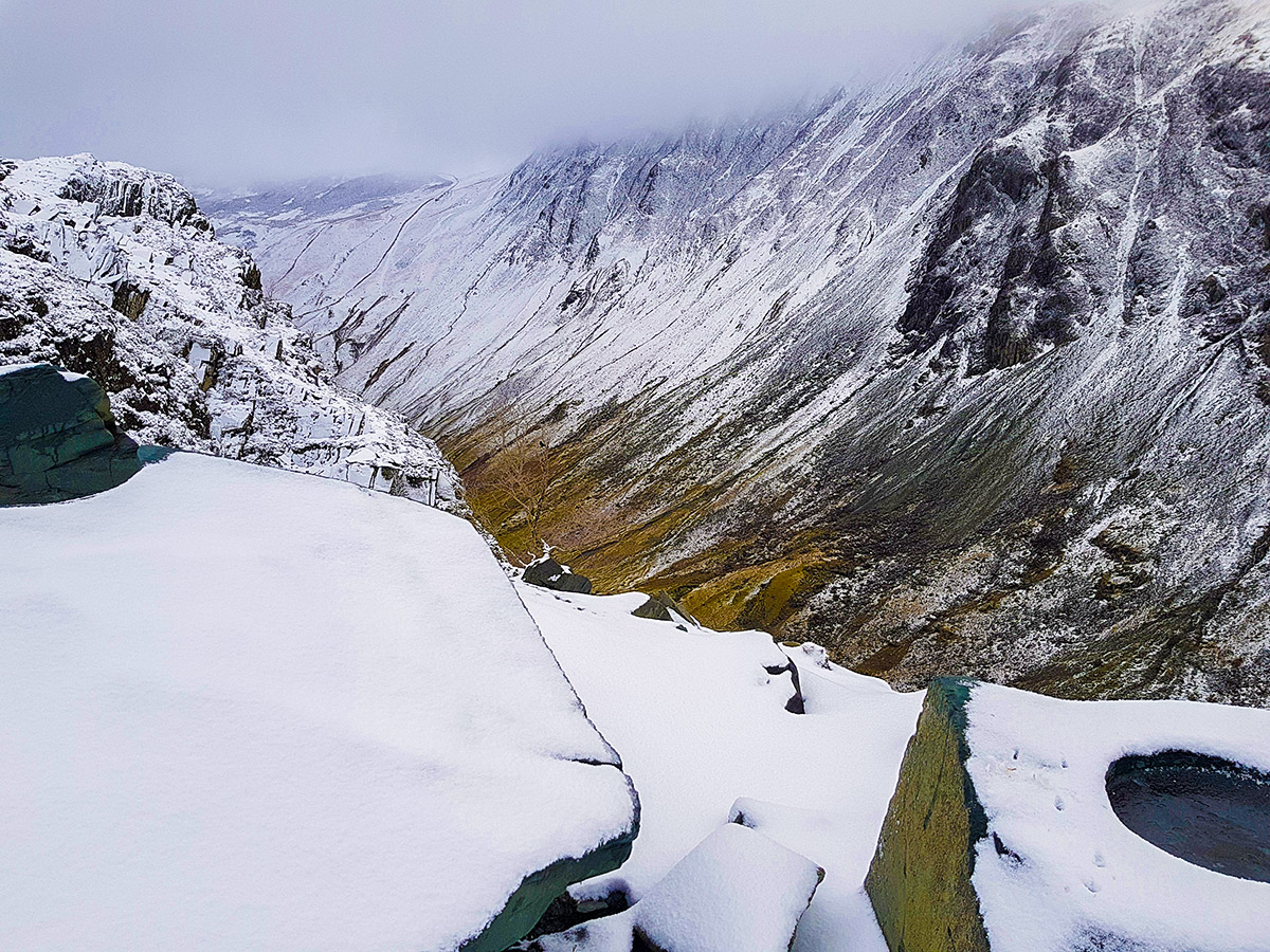Stunning winter views in the Lake District