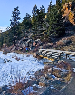 Lily Ridge trail in Rocky Mountain National Park, Colorado