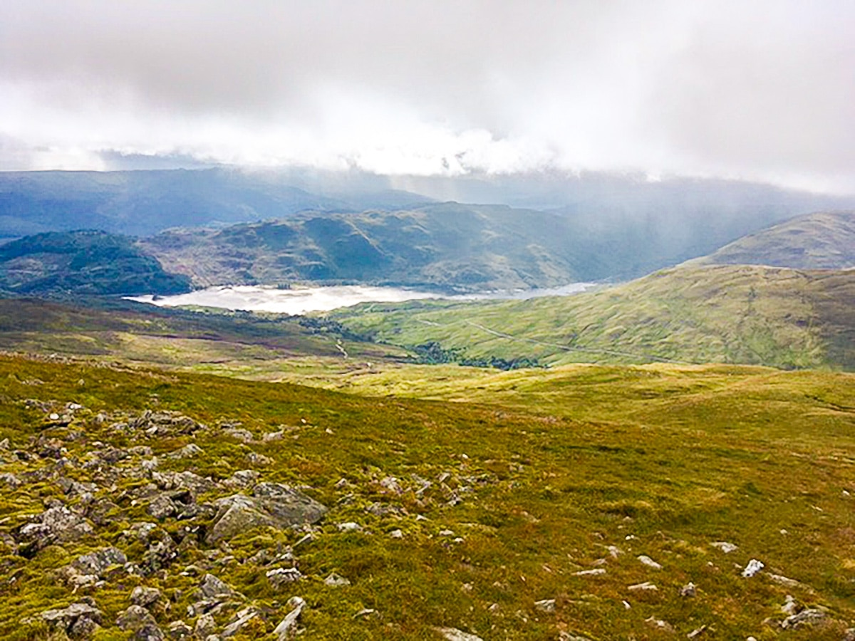 Ben Ledi hike in Loch Lomond and The Trossachs area in Scotland has beautiful views of the valley