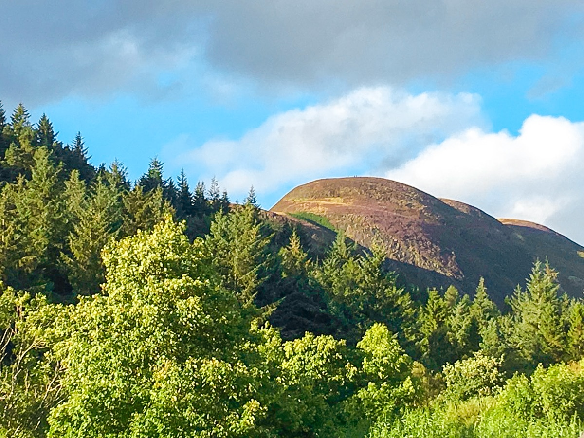 Conic Hill hike in Loch Lomond and The Trossachs region in Scotland