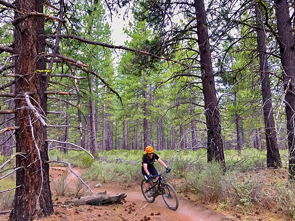 Phil's MTB trail in Bend, Oregon