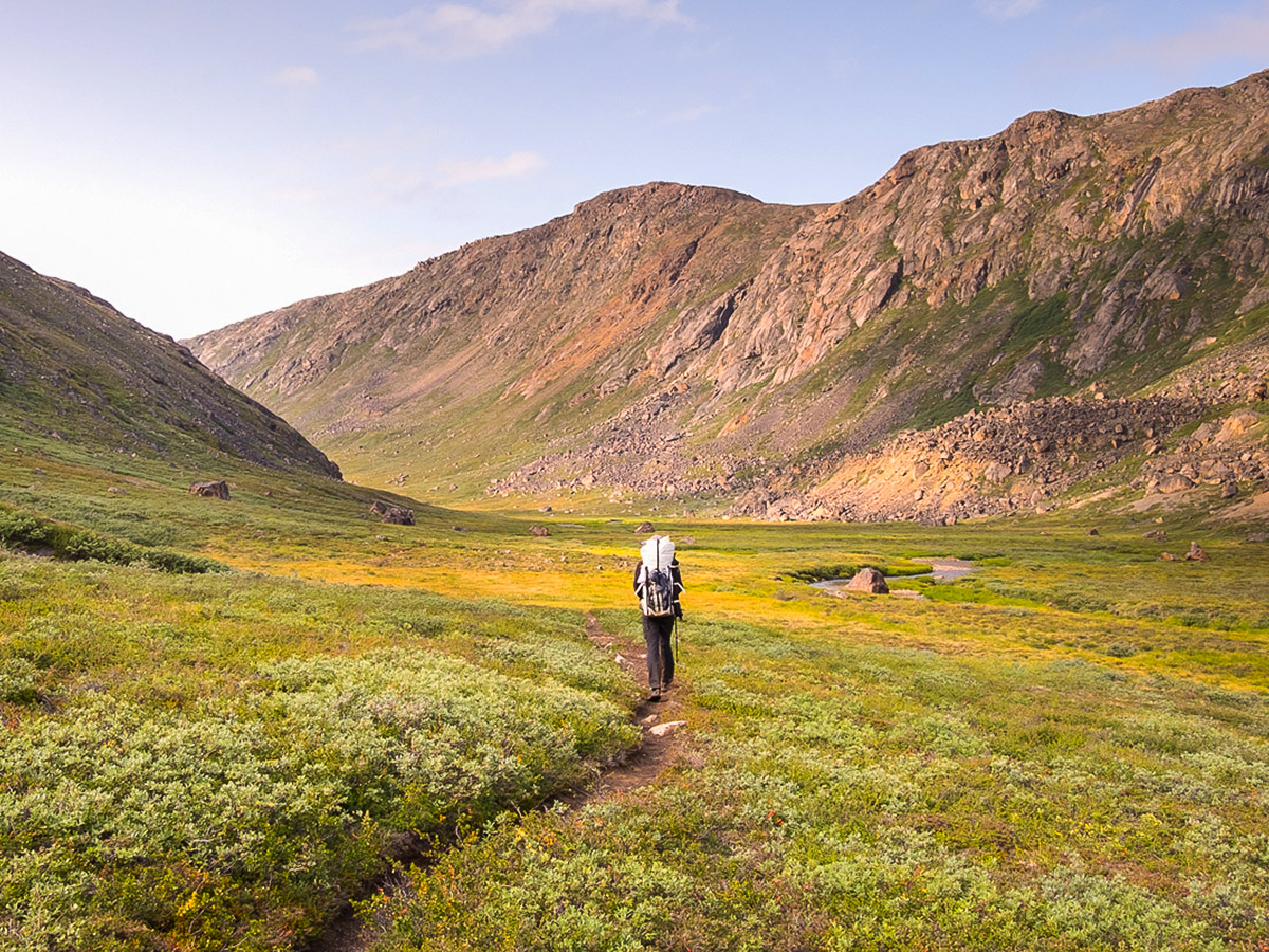 Clear route on Greenland's Arctic circle trail