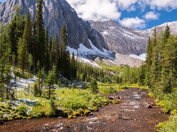 Great backpacking routes near Kananaskis and Canmore in Alberta