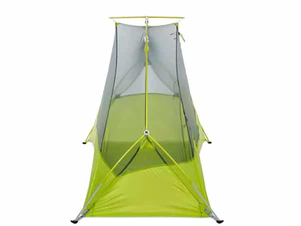 Rear view of MEC Spark Tent