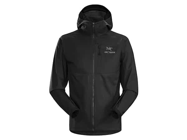Arc'teryx Squamish Hoody in black for hikers