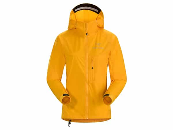 Arc'teryx Squamish Hoody in Yellow for hikers