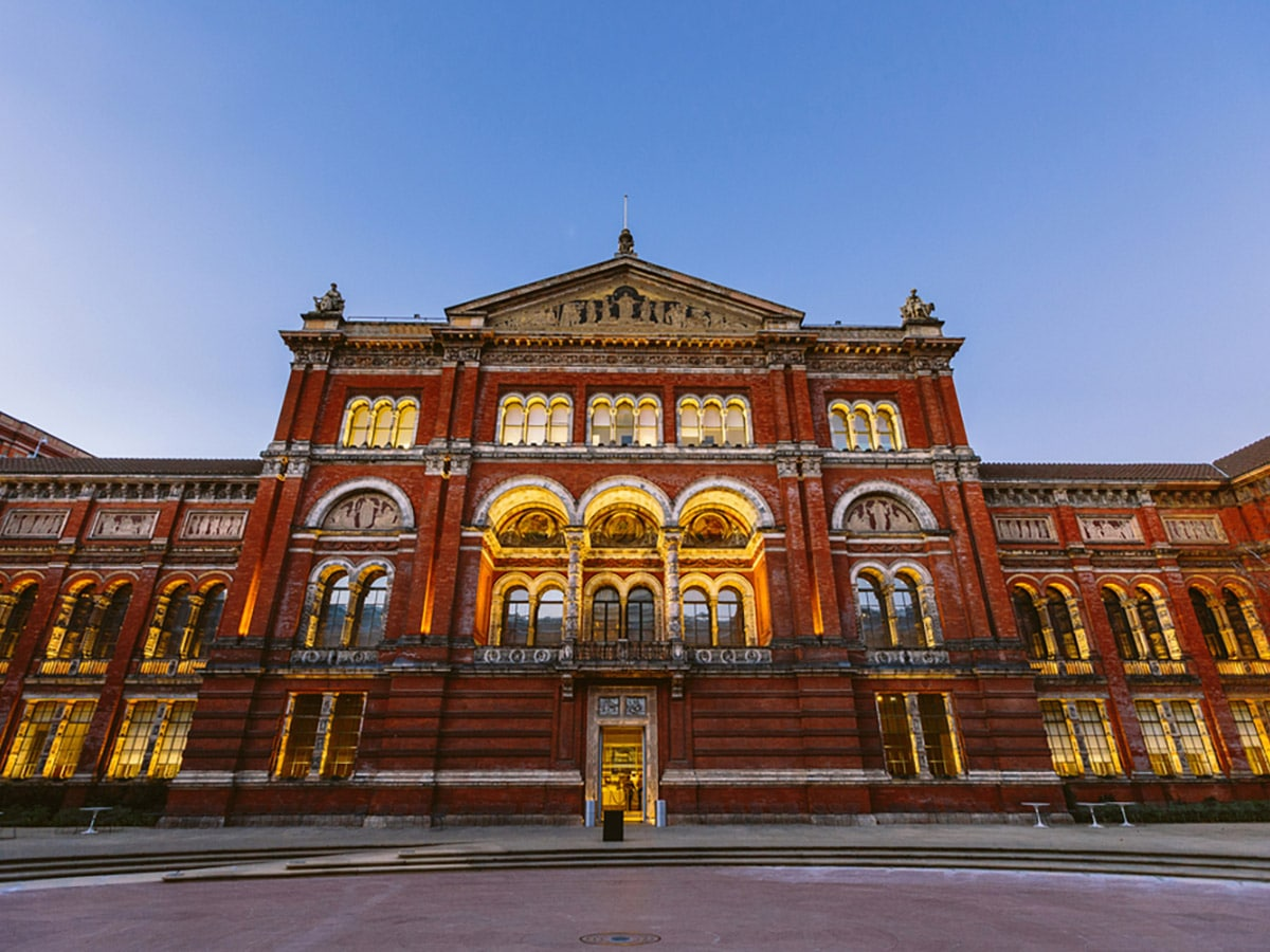 Victoria and Albert Museum on Marylebone, Mayfair and Belgravia walking tour in London, England