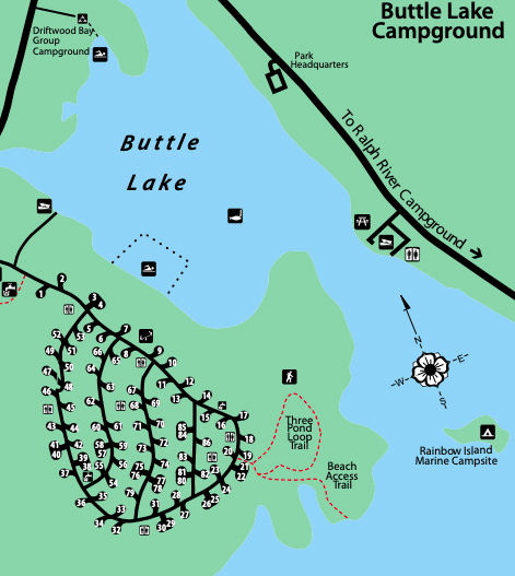 Buttle Lake Campground