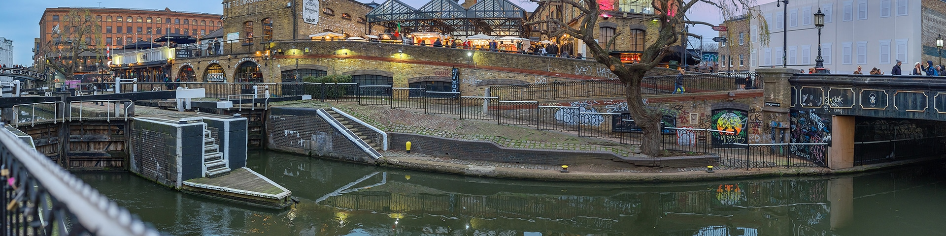 Regent's Canal from Edgware Road to Camden Town walk is one of the best walks in London, England