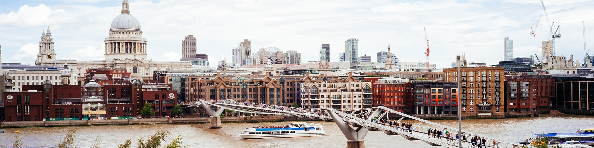 King's Cross to the City of London is one of the best city-walks in London, UK