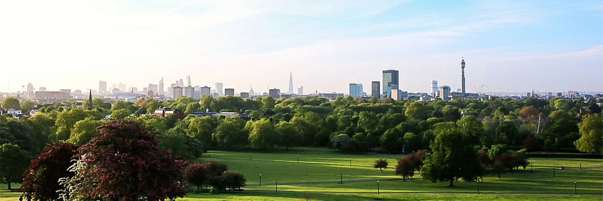 London Panorama on Baker Street, Regents Park, Fitzrovia and the British Museum walking tour in London, England