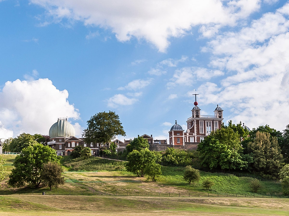 Royal Observatory on Greenwich to The Tower via Canary Wharf and the Thames city walk in London, England