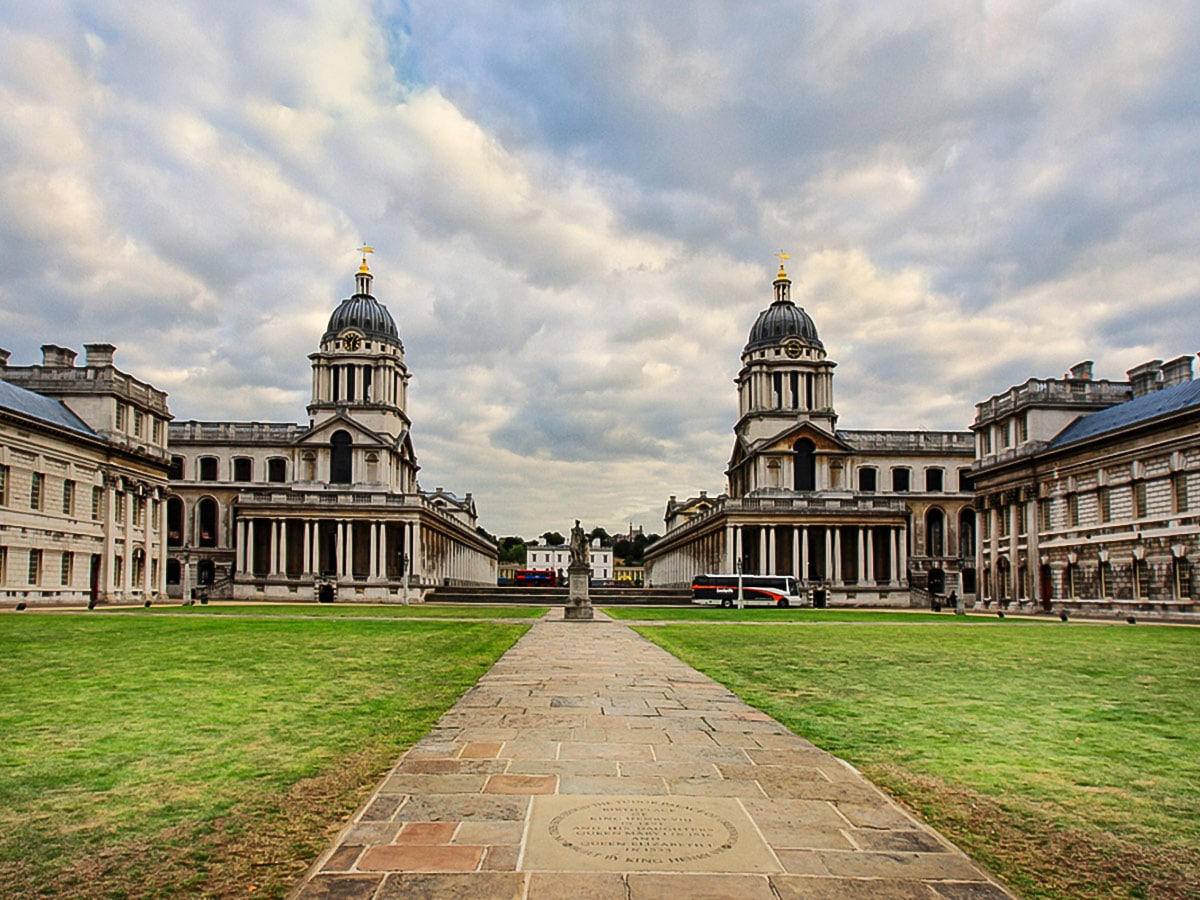 National Maritime Museum on Greenwich to The Tower via Canary Wharf and the Thames walking tour in London, England