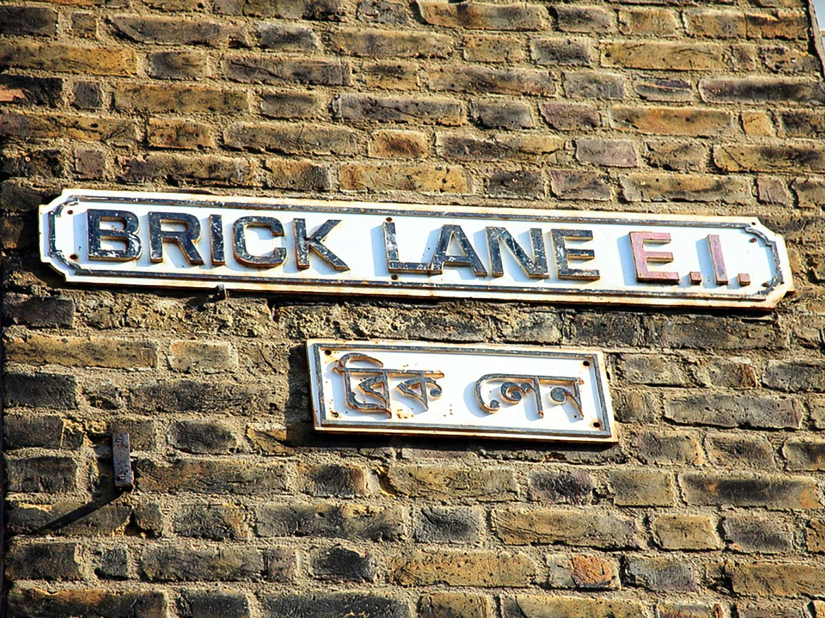 Brick Lane on King's Cross to the City of London walking tour in London, England