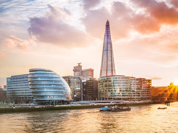 Best walks in London. England, UK