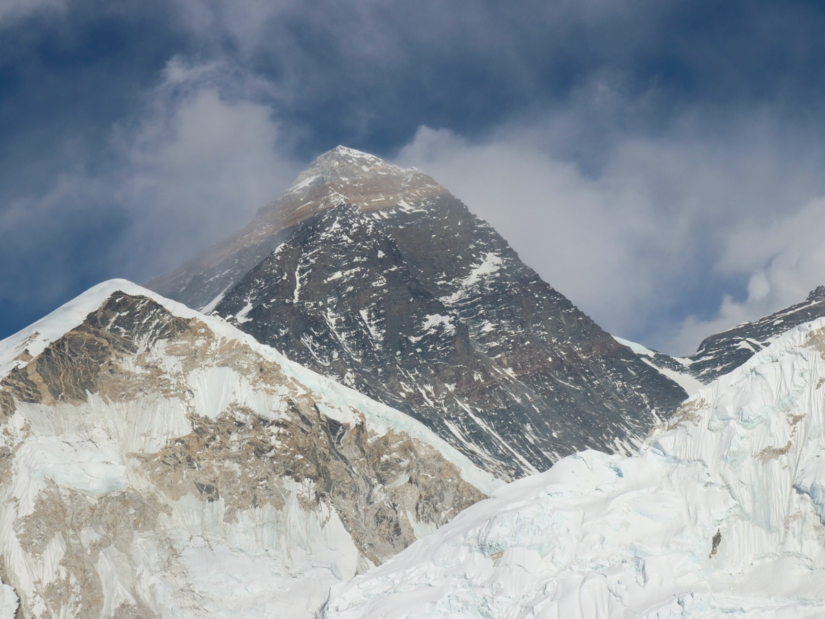 View of Mount Everest on the Everest Base Camp trek