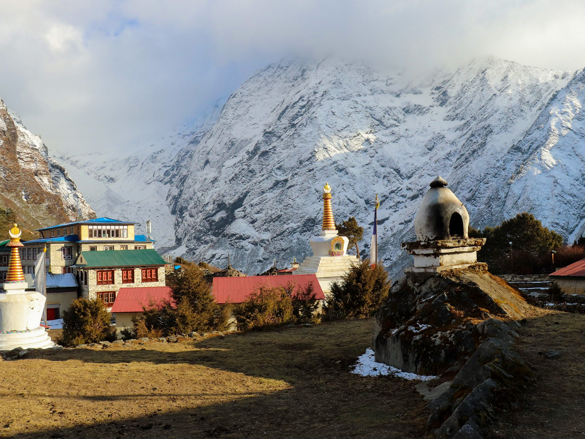 Tengboche on the Everest Base Camp Trek
