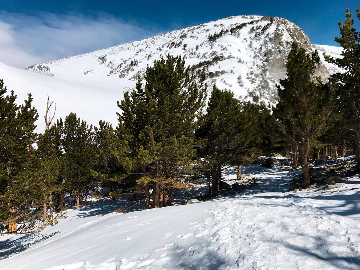 Expansive views on St. Mary's Glacier hike in Denver, Colorado