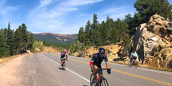 Amazing road biking trails around Boulder in Colorado