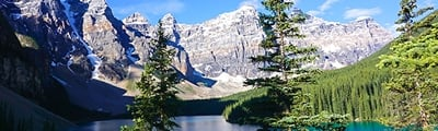 Hiking trails around Lake Louise in Banff National Park