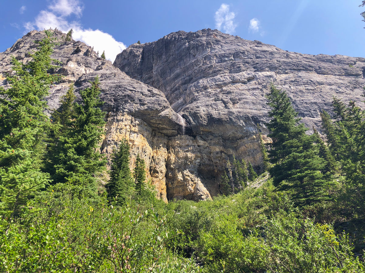 Eroded Cliffs on Ball Pass hike in Kootenay National Park, British Columbia