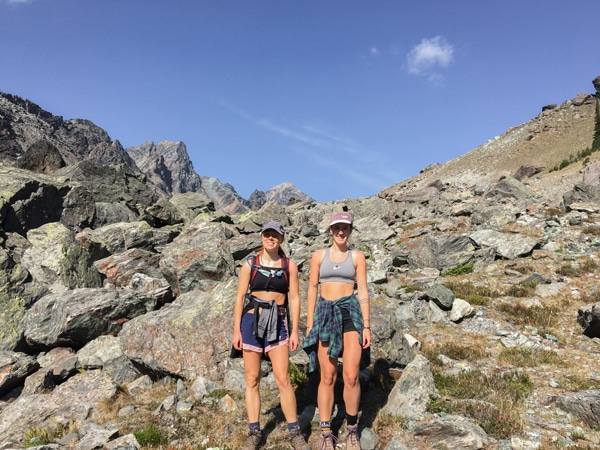 Great scenery on Whitewater Canyon hike in West Kootenays
