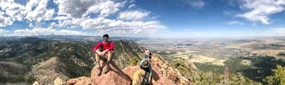 Hiking trails from Boulder, Colorado