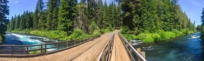 Hiking trails in Bend, Oregon