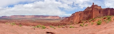 Hiking trails around Moab and Arches National Park, Utah