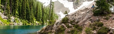 Hiking trails in North Cascades National Park, Washington