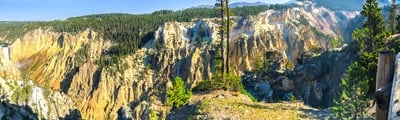 Hiking trails in Yellowstone National Park, Washington