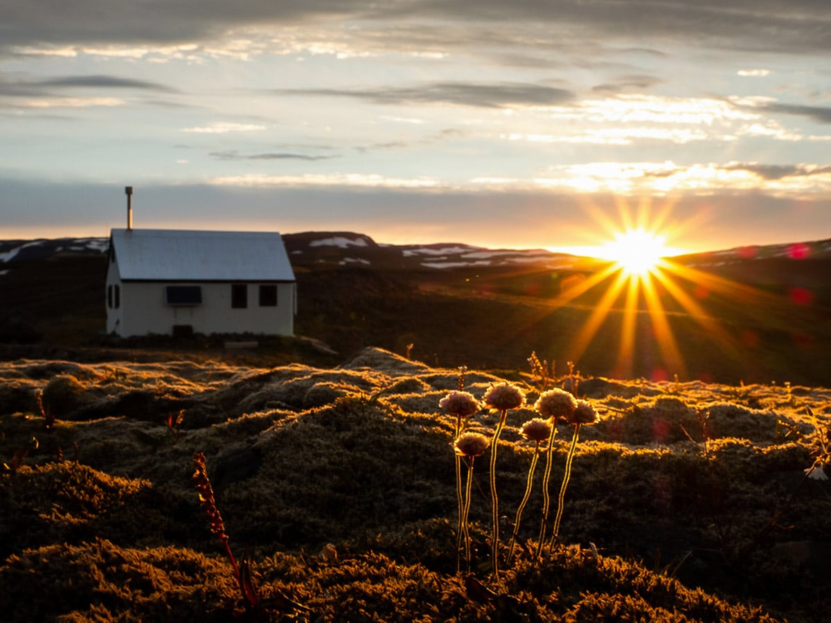 Iceland's Shadow of Vatnajökull Trek rewards with beautiful sunrise views