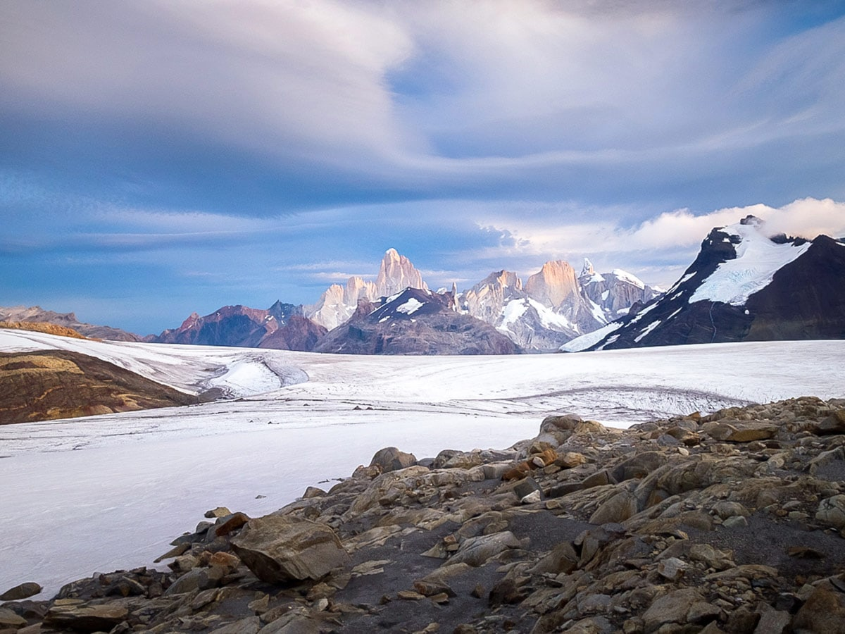 Id rather challenge myself on the South Patagonia Icefield than drink alcohol