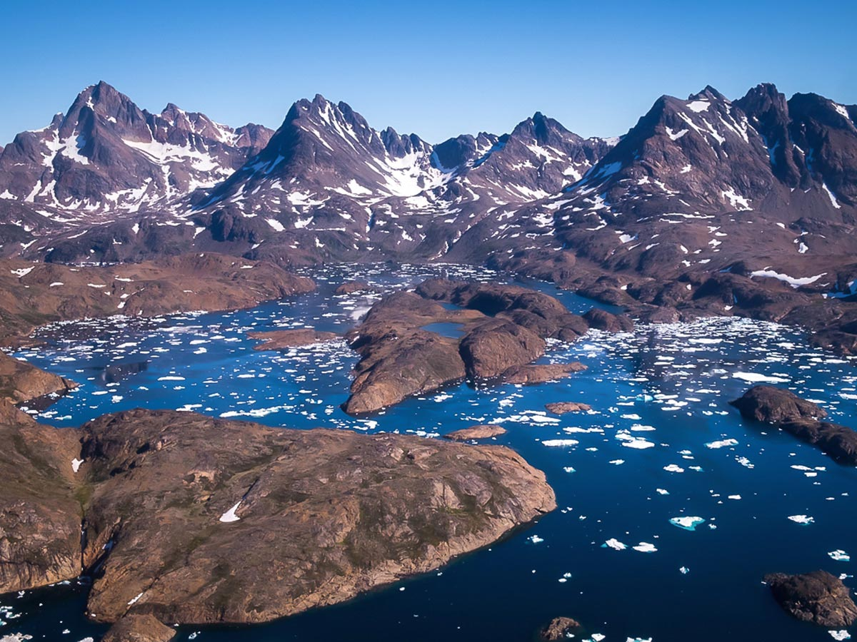 Saving money allowed me to fulfil my dream of visiting Greenland
