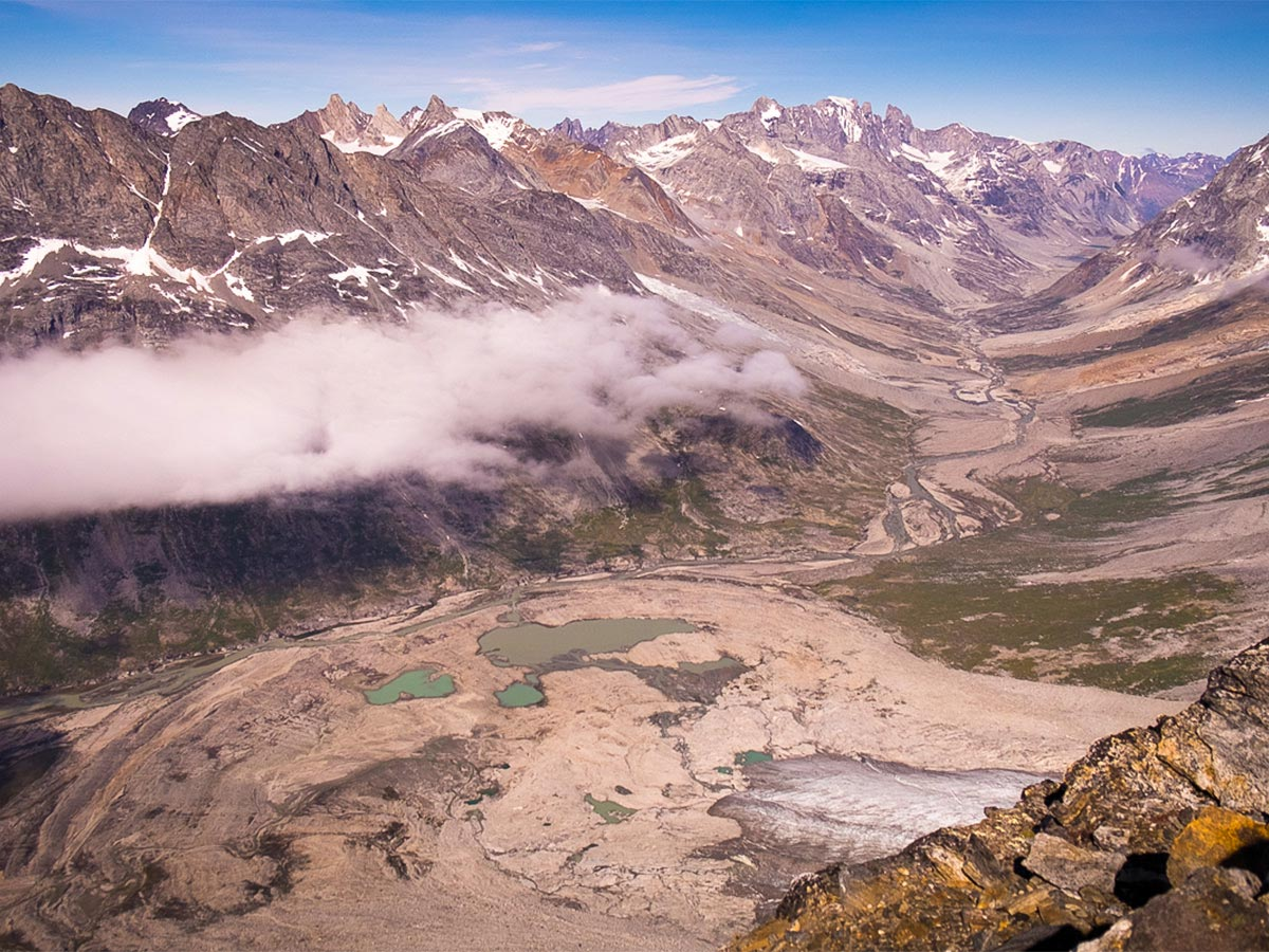 One of the views from the summit near the Tasiilaq Mountain Hut