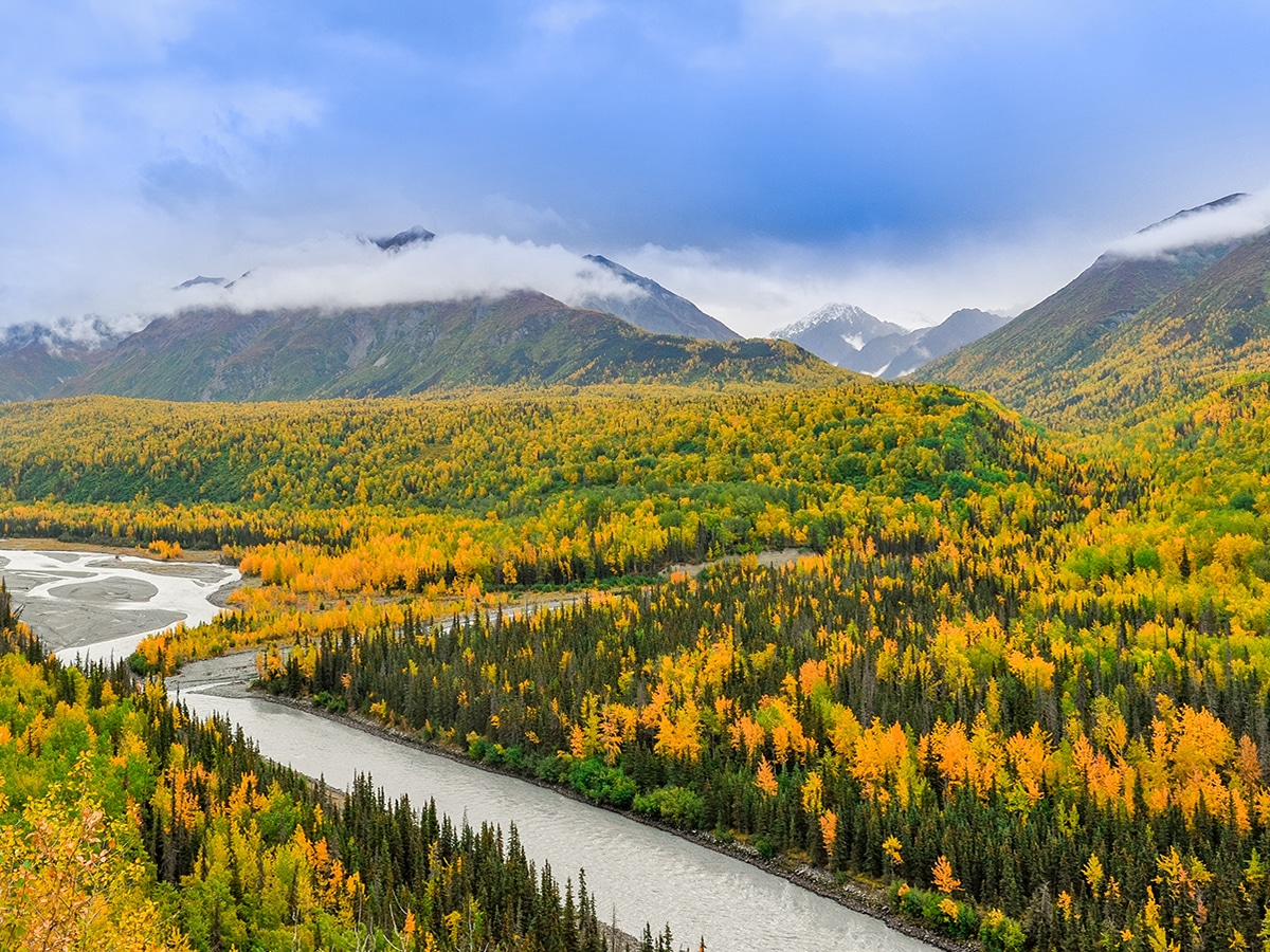 Crown Pass Trail in Chugach State Park (Alaska) is one of 10 best hikes in the United States