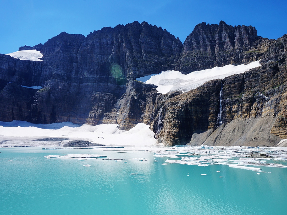 Grinnell Glacier Trail in Glacier National Park (Montana) is one of 10 best hikes in the United States