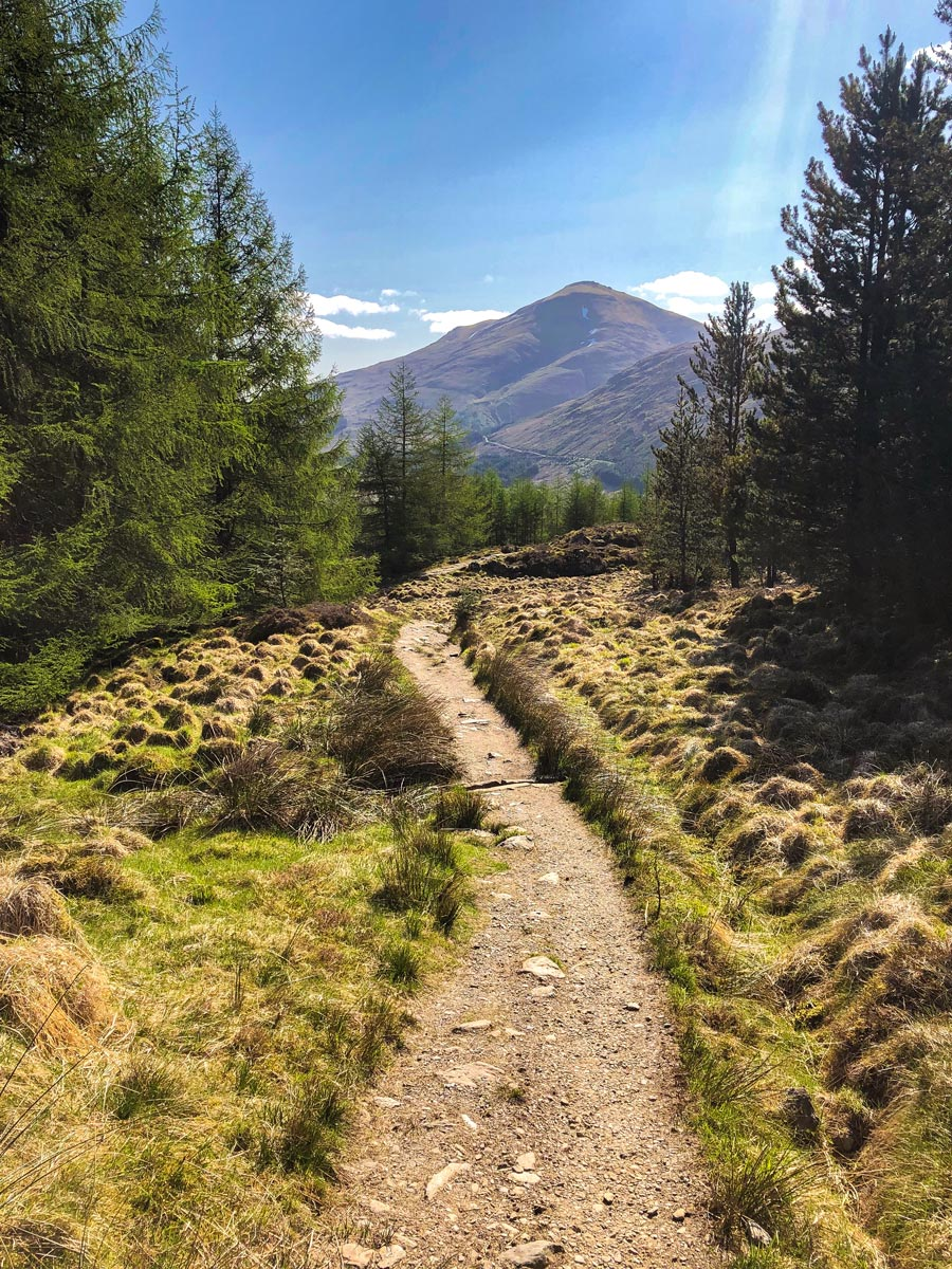 Good paths on the West Highland Way
