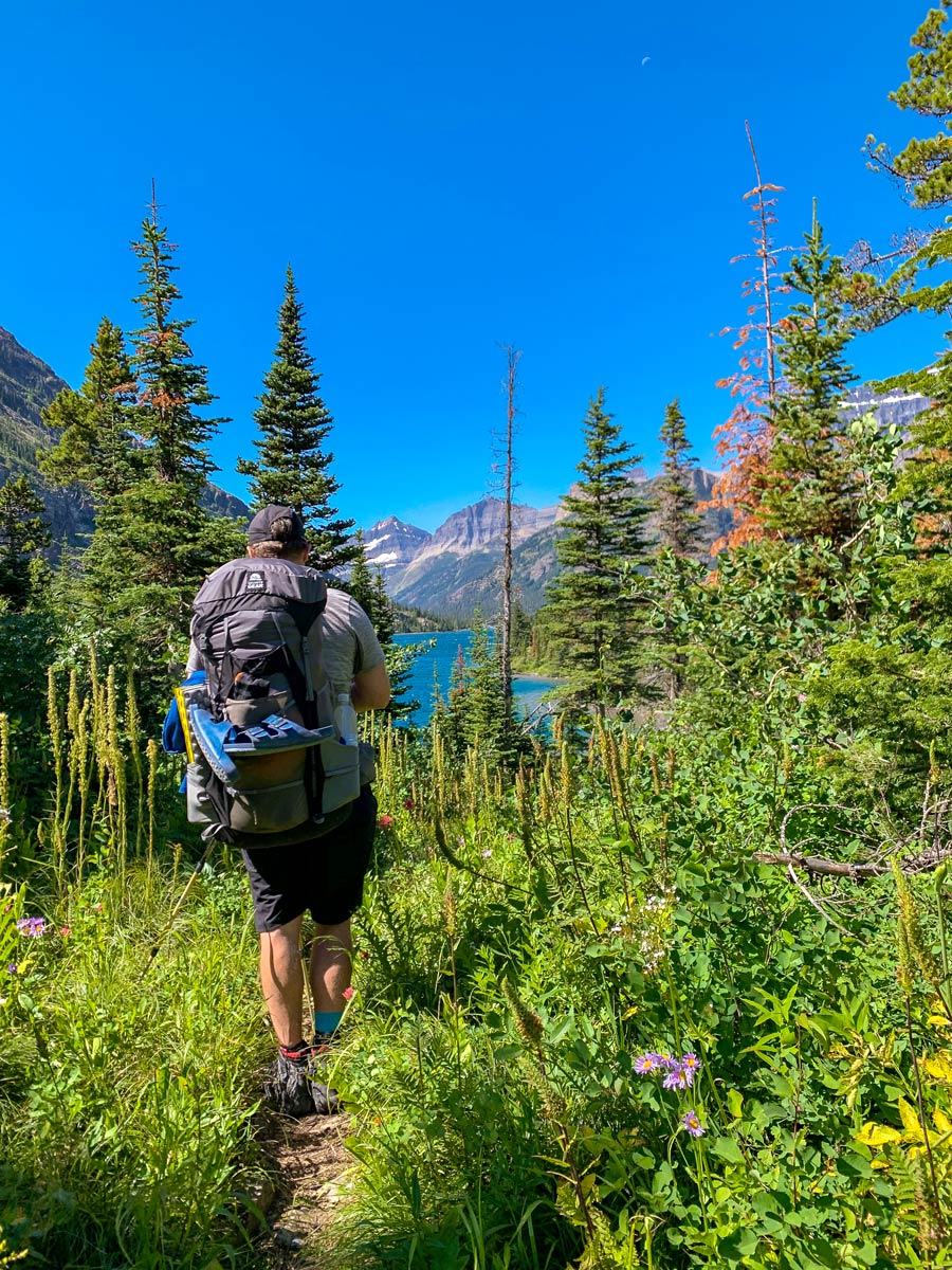 Beautiful Montana with the Granite Gear Crown X60 Backpack