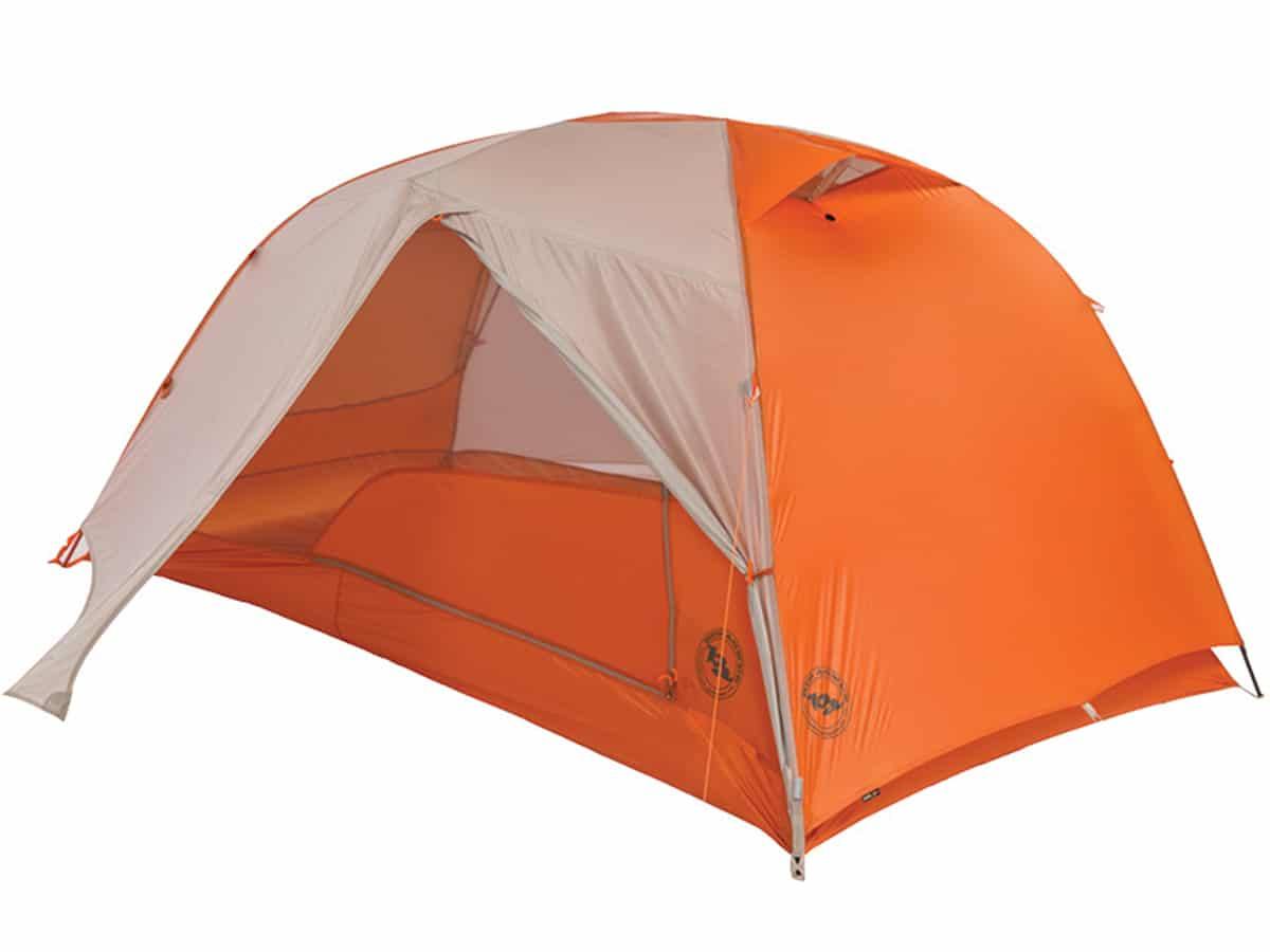 Big Agnes Copper Spur 2 Platinum Tent with fly open